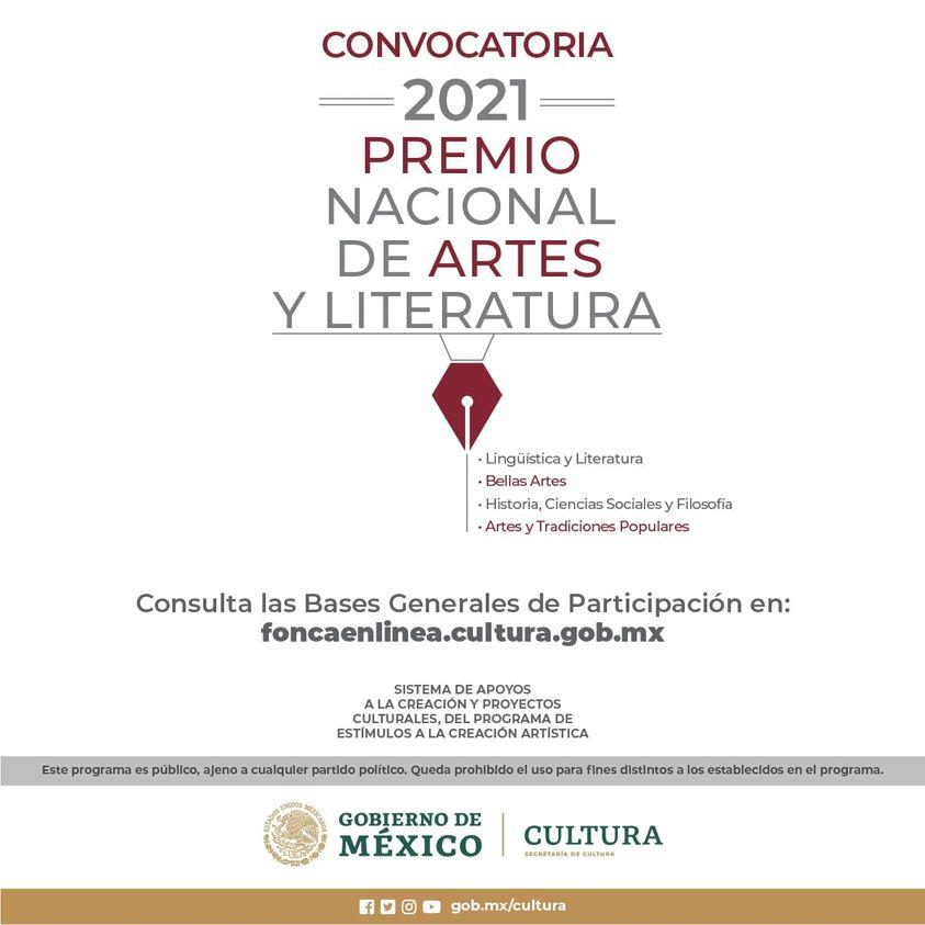 PREMIO NACIONAL DE ARTES Y LITERATURA