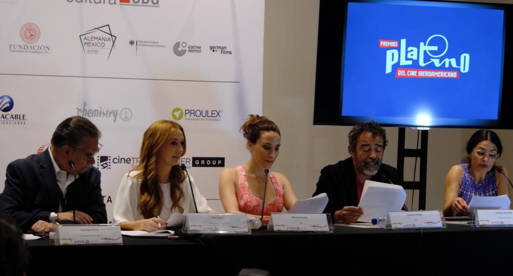 La IV Edición de los PLATINO bate su récord de participación con 847 largometrajes y anuncia los preseleccionados