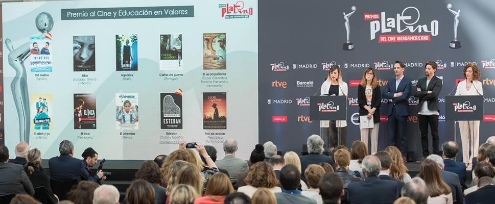 Sigue en directo en  Facebook las nominaciones finales de los Premios PLATINO del Cine Iberoamericano