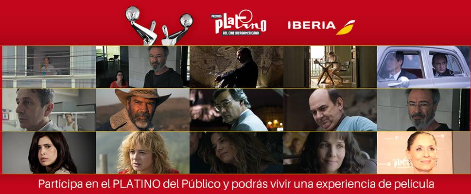 Abierta la votación a los Premios PLATINO del Público
