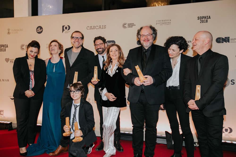 São Jorge triunfa en los Premios Sophia 2018 de la Academia de Cine Portuguesa