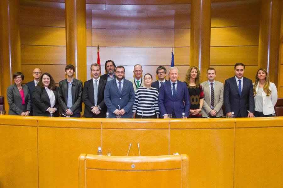 La Coalición de Creadores organizó un acto conmemorativo del Día Mundial de la Propiedad Intelectual en el Senado