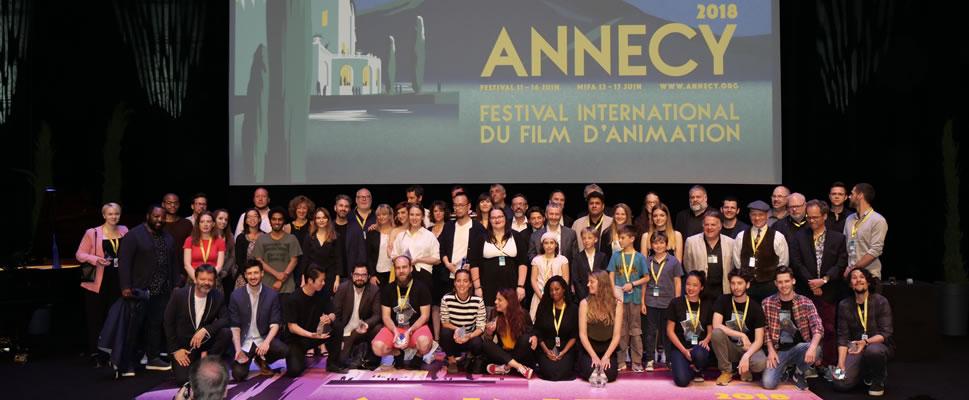 Tres producciones iberoamericanas han sido premiadas en la reciente edición del Festival de Annecy de animación