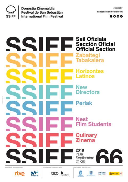 El cine iberoamericano estará representado por 79 producciones en el 66 Festival de San Sebastián