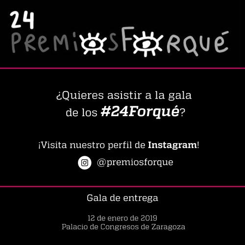 Gana una entrada doble para la gala de los 24 Premios Forqué