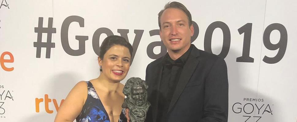 Roma se alzó con el tercer Goya iberoamericano para México