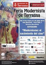 <b>LA EXPOSICIÓN ´MODERNISMO: EL NACIMIENTO DEL CINE´ LLEGA A TERRASSA, CIUDAD CREATIVA DEL CINE POR LA UNESCO</b>