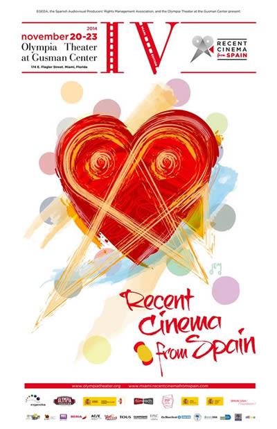 Todo preparado para la IV edición  de la muestra de cine español en Miami RECENT CINEMA FROM SPAIN