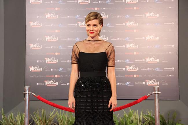 Leandra Leal assume indicação ao Prêmio Platino como um