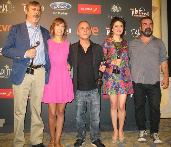 La isla mínima, Javier Gutiérrez y Érica Rivas reciben el Premio PLATINO del Público