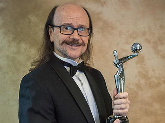 Santiago Segura, presentador de la gala de los Premios Platino, reconocido con la Medalla de Oro de la Academia española de las Artes y las Ciencias Cinematográficas 2016